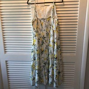 7df4bb04be74 Torrid Dresses   White Lemon Smocked Midi Dress   Poshmark